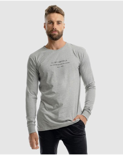 Dvnt Revolution Long Sleeve Tee Grey
