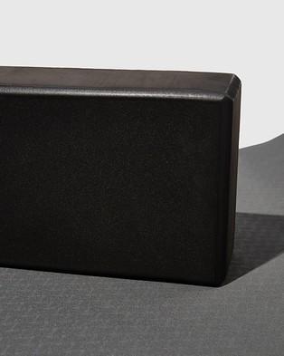 Cotton On Body Active Yoga Block - Yoga Accessories (Black)