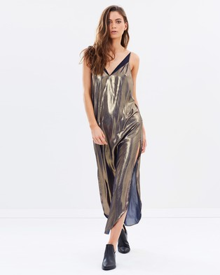 Buy Free People - Anytime Shine Maxi Slip -  shop Free People dresses online