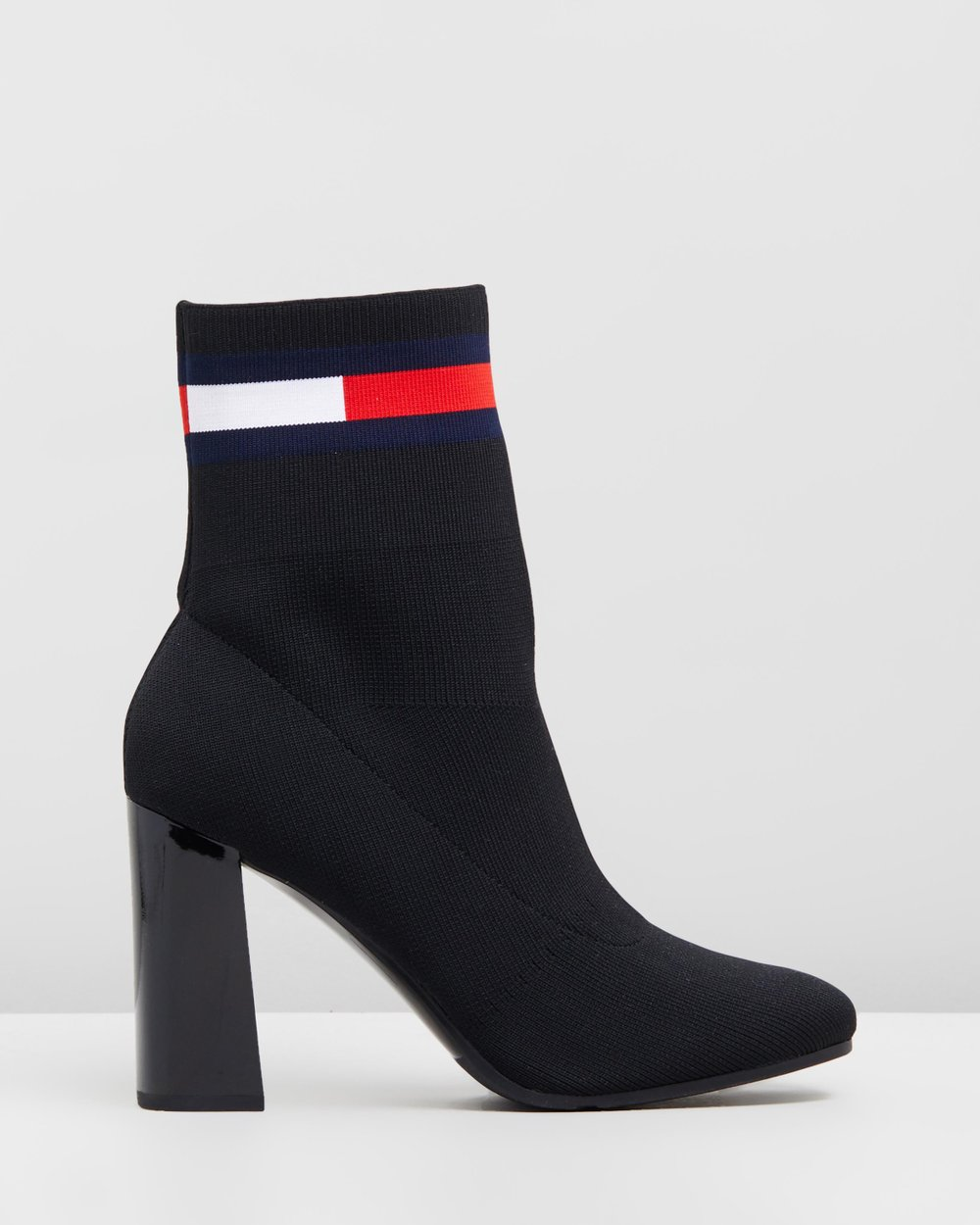 Sock Heeled Boots by Tommy Hilfiger Online  cbb2fd563389d