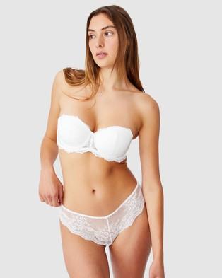 Cotton On Body Zoe Lace Strapless Push Up2 Bra - Strapless Bras (Cream)