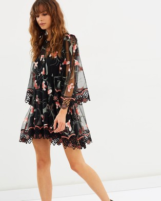 alice McCALL – Wish You Were Here Dress Black Sugar Plum
