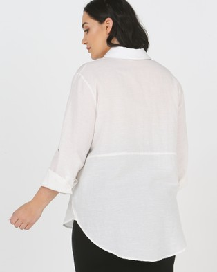 Advocado Plus The Perfect Blouse - Tops (Ivory)