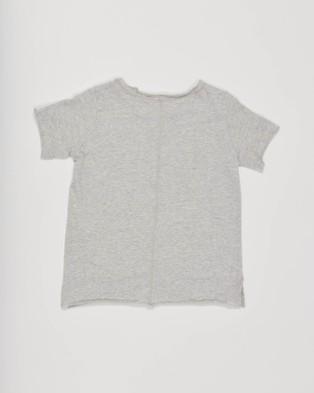 jac & mooki jnr North Tee - T-Shirts & Singlets (GREY MARLE)