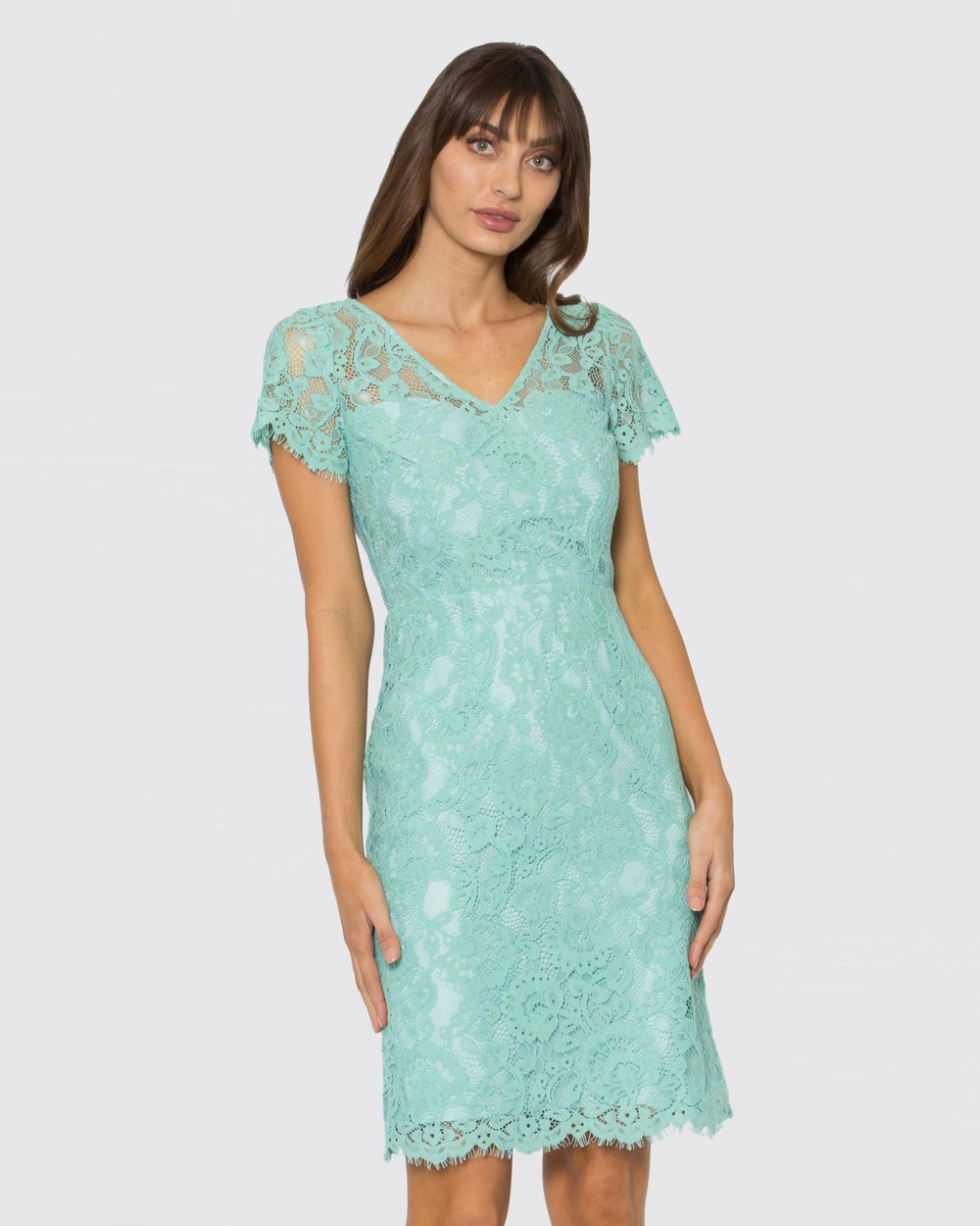 Alannah Hill Green Tail Feather Dress