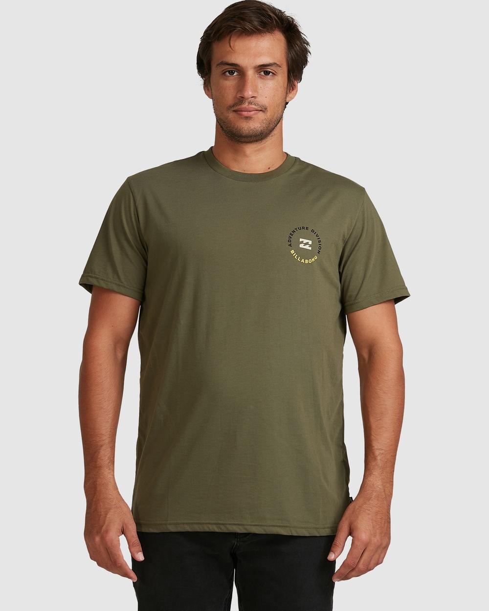 Billabong - Adiv View Tee - T-Shirts & Singlets (MILITARY) Adiv View Tee