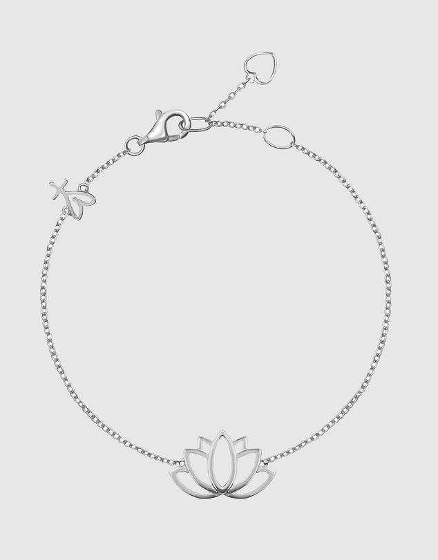 Women Lotus Friendship Bracelets