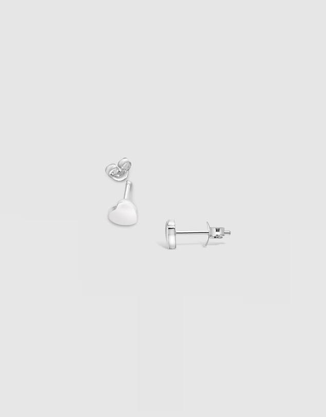 Women Heart Stud Earrings