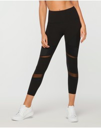 Lorna Jane - Shine Ultimate Ankle Biter Tights