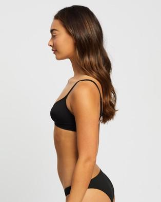 BONDI BORN Lauren Bikini Top - Bikini Tops (Black)