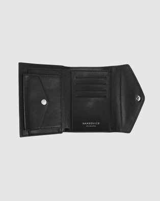 Nakedvice The Ace Pebbled - Wallets (Black)
