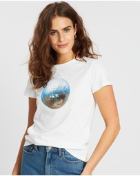 Conscious Swim - Underwater Earth Jacks Tee