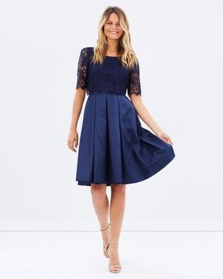 Review – Atalia Dress – Dresses (Navy)