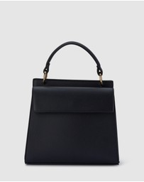Olga Berg - Veronica Double Sided Top Handle Bag