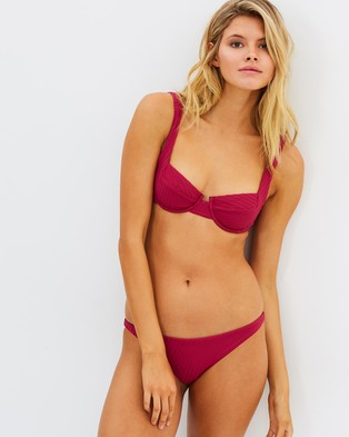 Buy Fella Swim - Mr Smith Bikini Bottoms Magenta -  shop Fella Swim dresses online