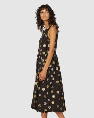 Gorman Medallion Dress Dresses Multi