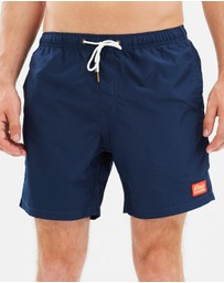 Deus Ex Machina - Plain 16 Inch Boardshorts