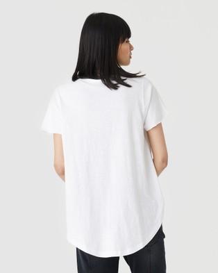 Jac & Mooki Kendall Tee - T-Shirts & Singlets (white)