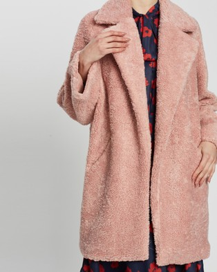 Grace Willow Caspian Coat - Coats & Jackets (Pink)