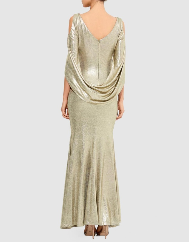 Montique - Lana Metallic Gown