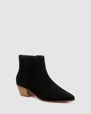 Nine West Toya - Boots (BLACK SUEDE)