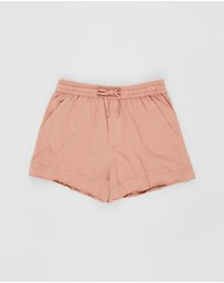 Feather Drum - Double Hem Shorts - Teens