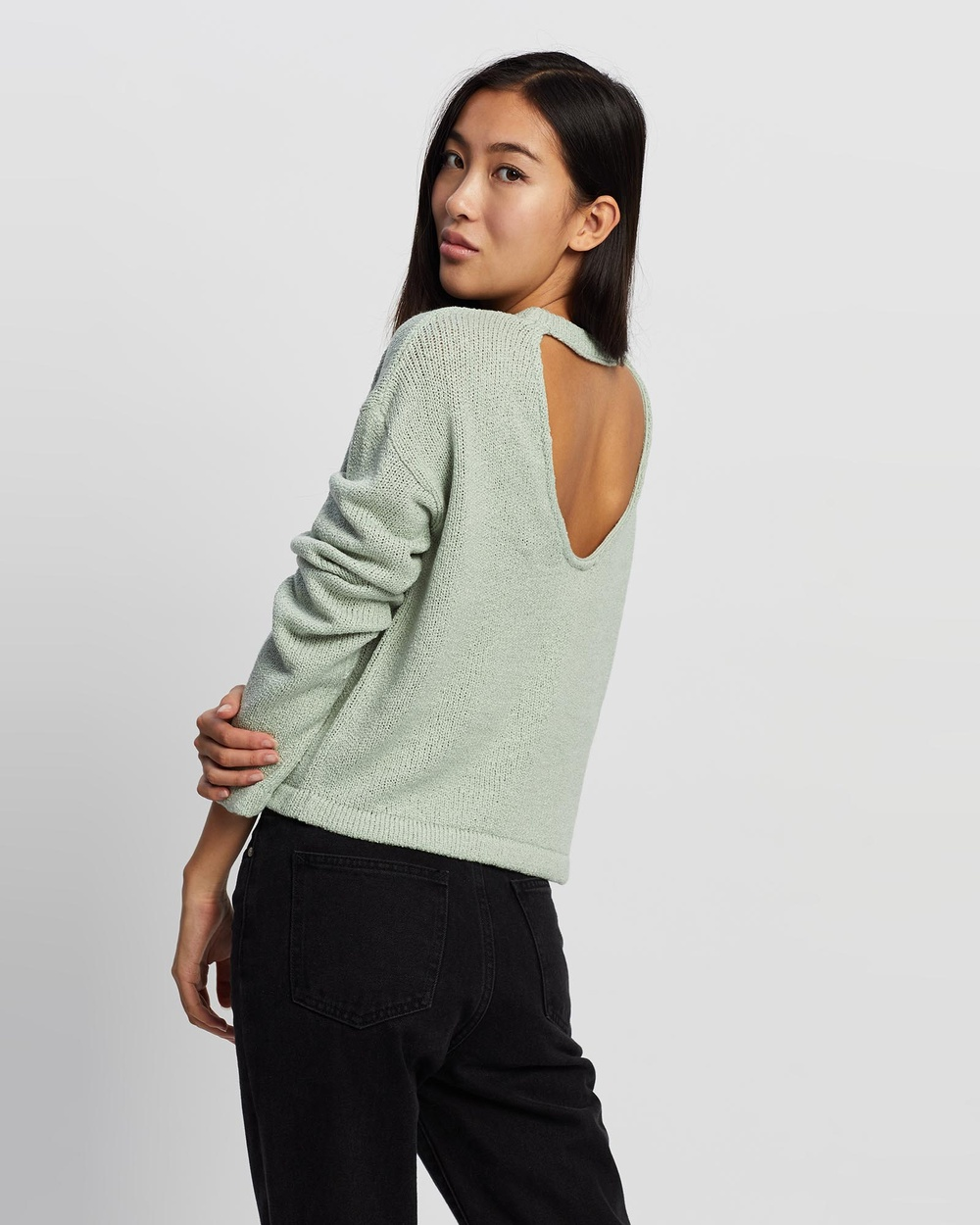 All About Eve Kindred Knit Jumpers & Cardigans LIGHT GREEN