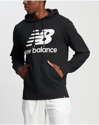 New Balance - NB Essentials Stacked Logo Pullover Hoodie