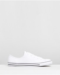 Converse - Chuck Taylor All Star Dainty Ox Leather - Women's