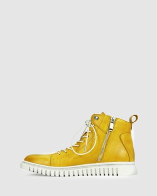Eos Clarrie - Lifestyle Sneakers (Yellow)