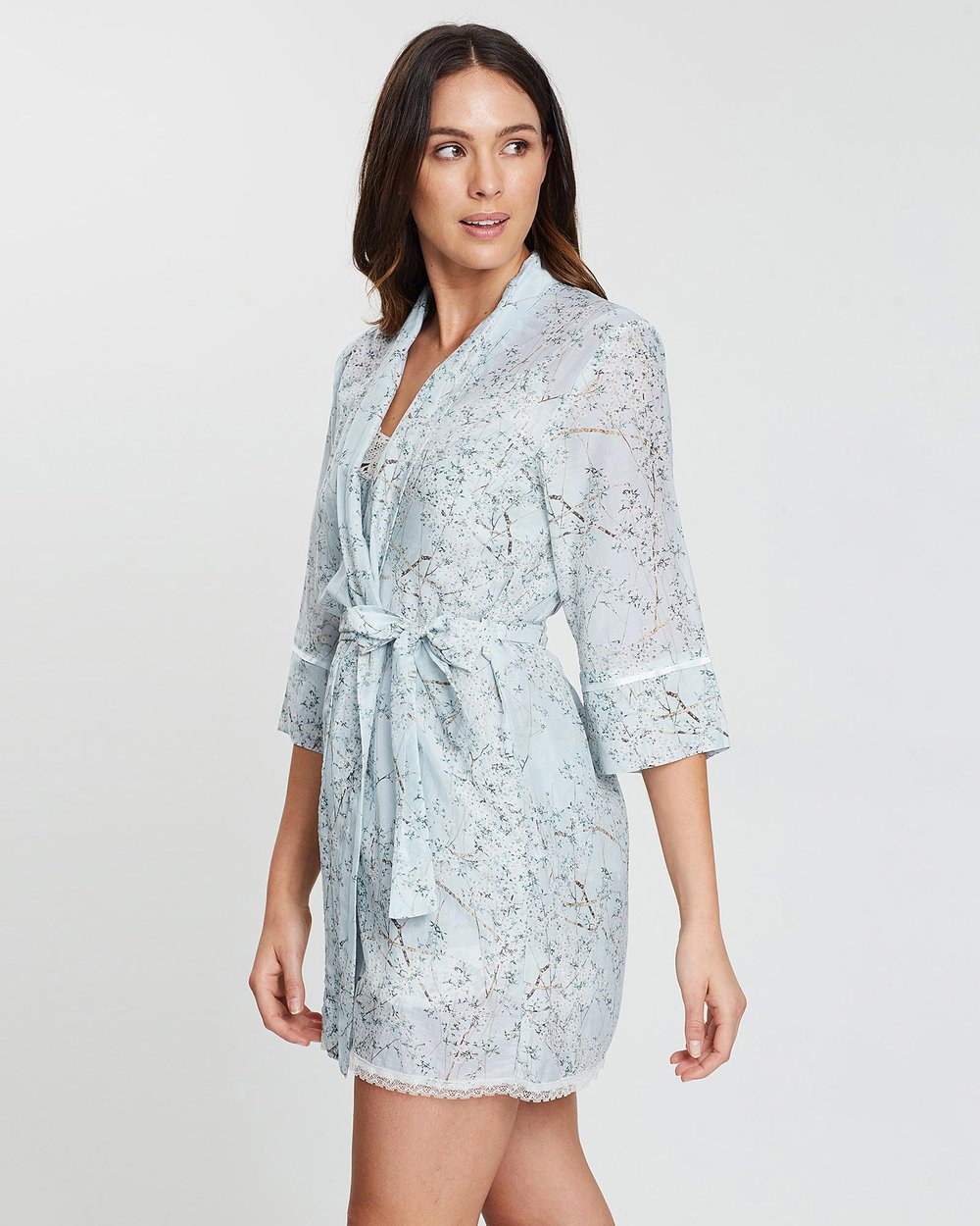 654e121cbc33 Cherry Blossom Robe by Papinelle Online