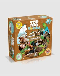 PUZZLE - Farm Animals Puzzle - 100 Piece