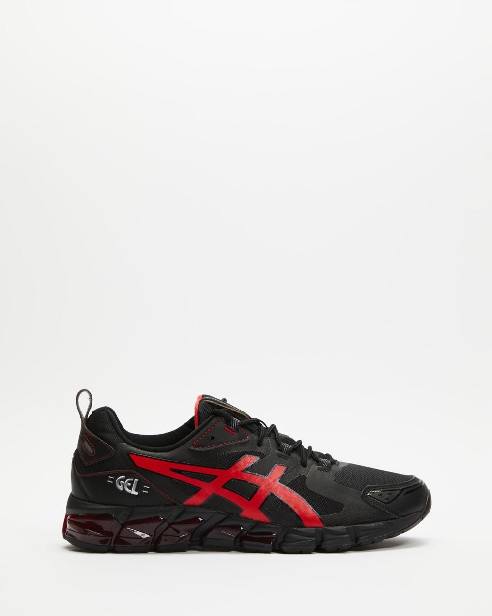 ASICS GEL Quantum 180 6 Men's Performance Shoes Black & Electric Red GEL-Quantum Australia