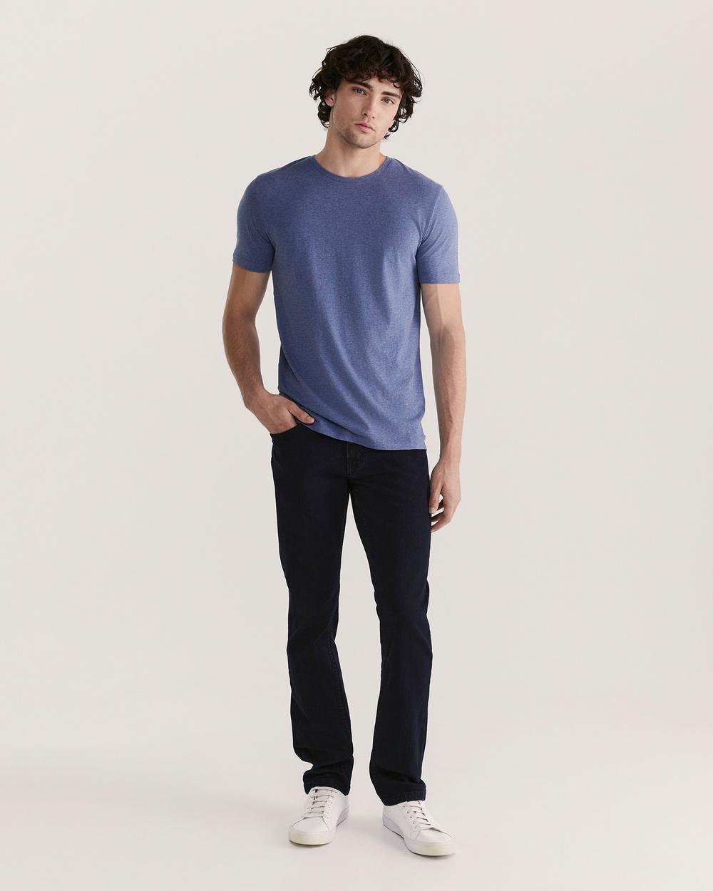 SABA - Daniel Crew Neck Tee - T-Shirts & Singlets (navy) Daniel Crew Neck Tee