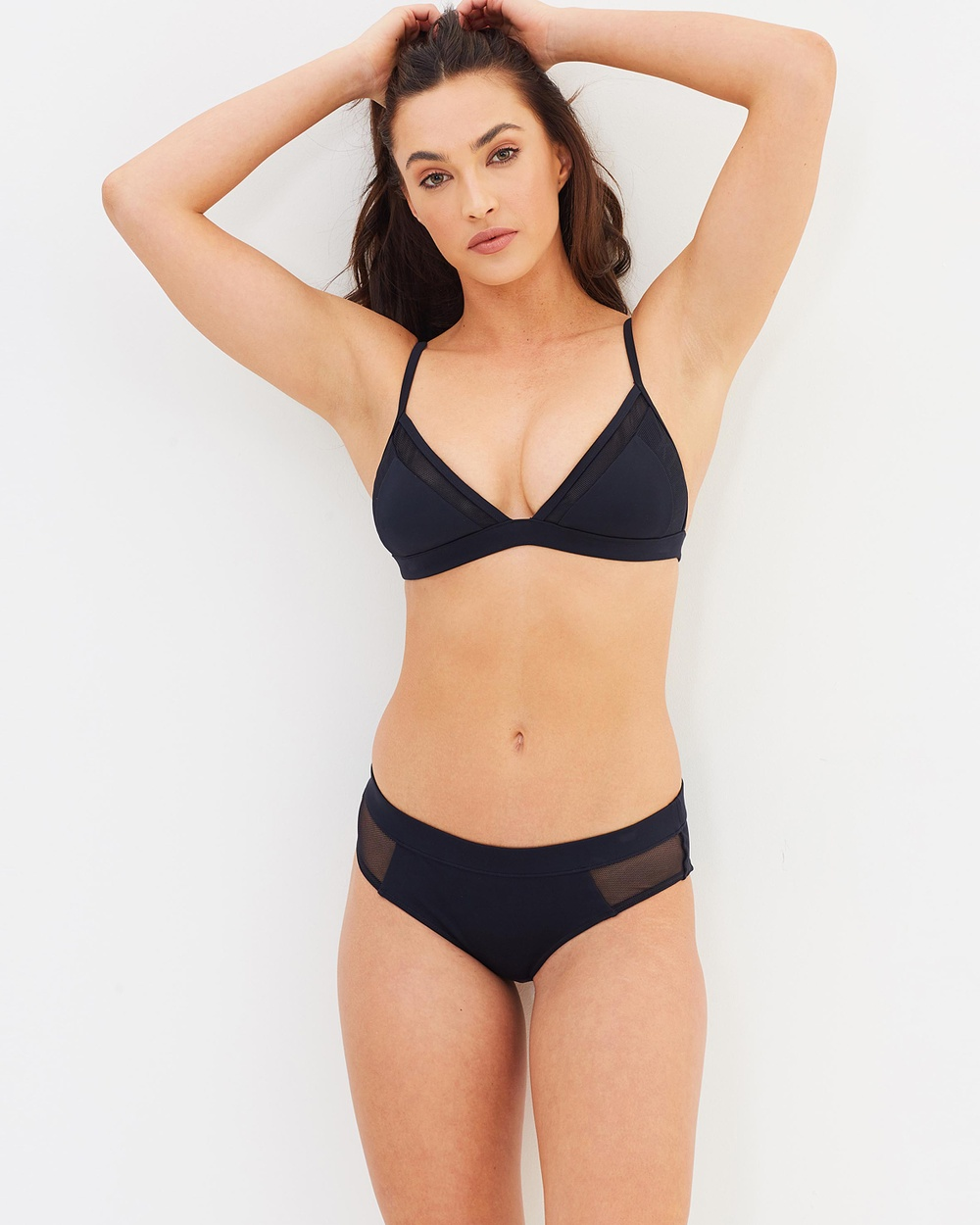 CK Swim Hipster Bottoms Bikini Bottoms Black Hipster Bottoms