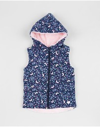 Eve's Sister - Rainbow Dreams Puffer Vest - Kids