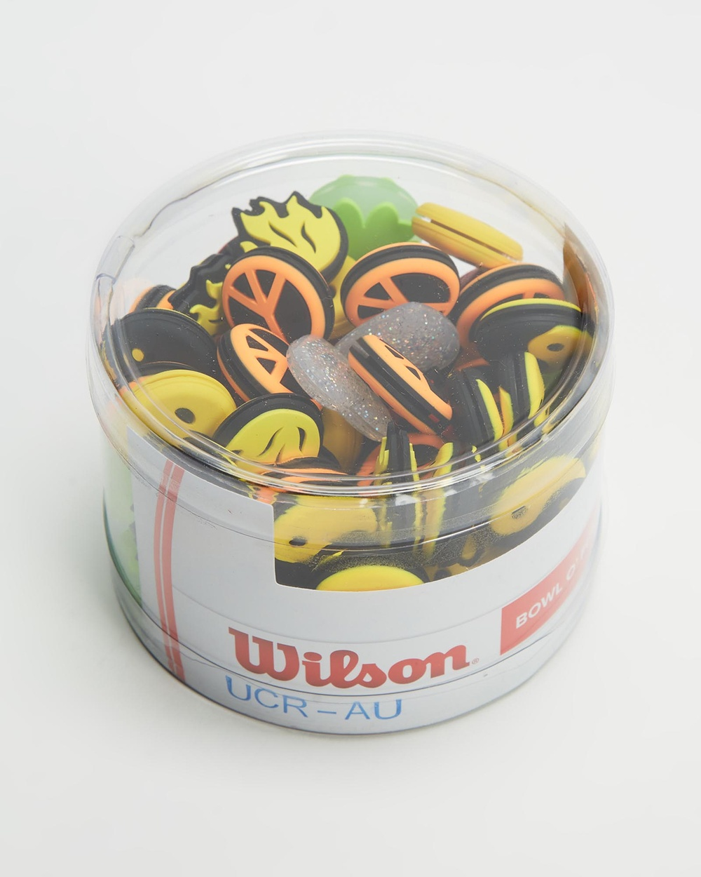 Wilson 65 Pack Bowl O Fun Vibration Dampner All Team Sports Assorted 65-Pack
