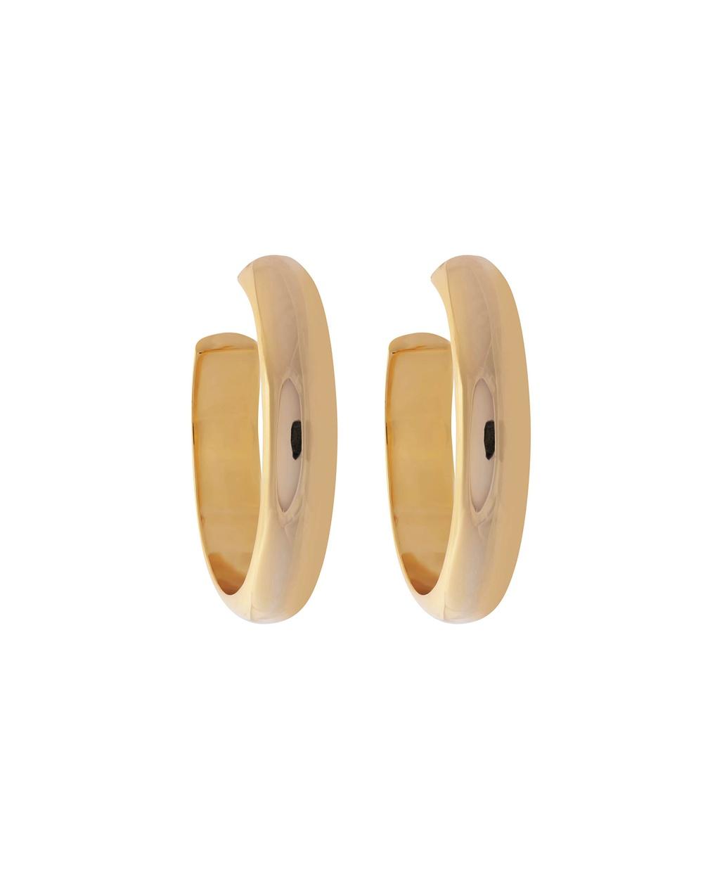 ALIX YANG Mini Bessie Hoops Jewellery Gold