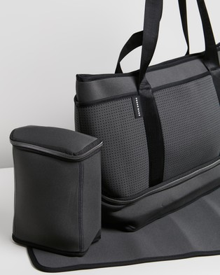 Prene THE ICONIC EXCLUSIVE   The Sunday Baby Bag - Bags (Charcoal)