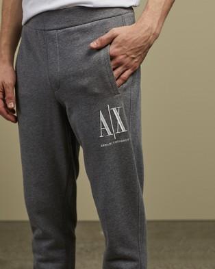 Armani Exchange Icon Period Jogger Trousers - Sweatpants (Grey)