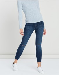 Good American Maternity - The Home Stretch Crop Jeans