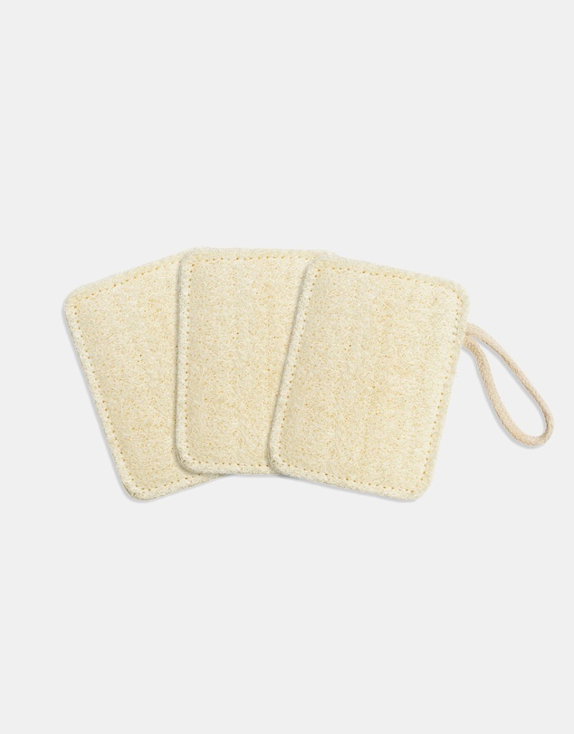 Life Compostable Kitchen Loofah - Set of 3