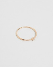 Ginette NY - Mini Lonely Diamond Ring