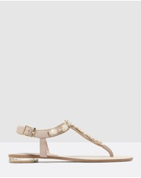 Forever New - Jenna Jewelled Toepost Sandals