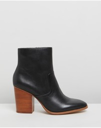 ALDO - Thielle Leather Ankle Boots