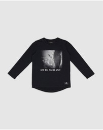 Rock Your Kid - Tear Us Apart Long Sleeve Tee - Kids