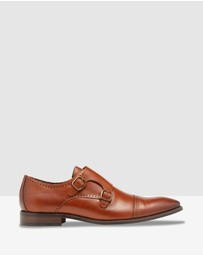 Oxford - Enrique Leather Monk Shoes