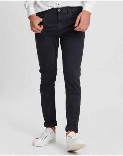 Academy Brand Jack 5-pocket Pants Black