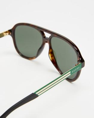 Gucci GG0688S003 - Sunglasses (Havana)