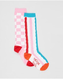 Noe and Zoe - Crew Socks 2-Pack - Babies-Kids